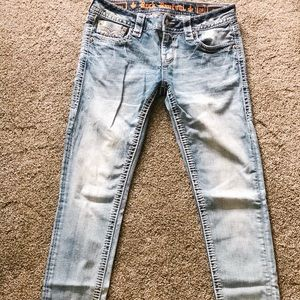 Britt Ankle Skinny Stretch Jean
